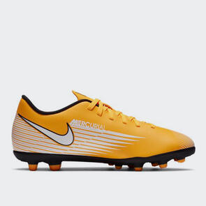 Nike Junior Mercurial Vapor 13 Club MG – Yellow/Black/White
