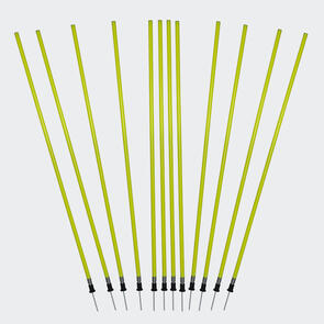 Kiwi FX Spring Loaded Agility Poles (Set 12 with Carry Bag)