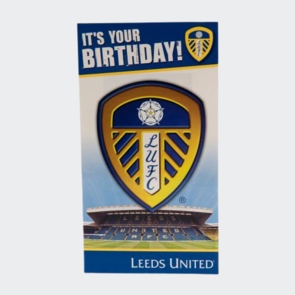 Leeds United Birthday Card