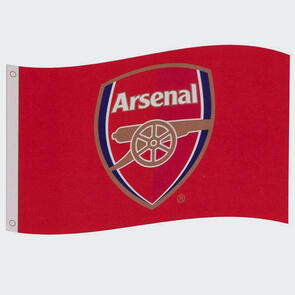 Arsenal Club Crest Flag