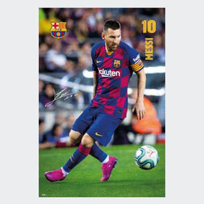 Barcelona Messi Poster 1