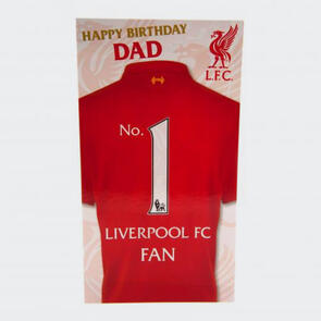 Liverpool Birthday Card (for Dad)