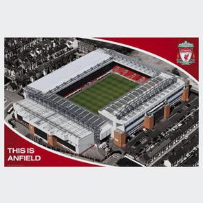Liverpool Stadium Poster