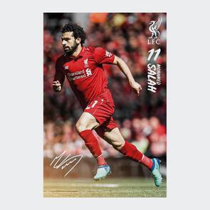 Liverpool Salah Poster