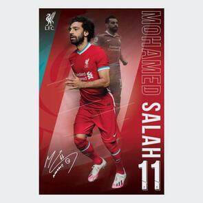 Liverpool Poster Salah 1