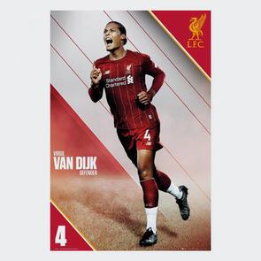 Liverpool Van Dijk Poster 15