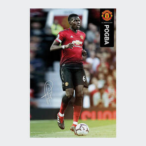 Manchester United Pogba Poster 49
