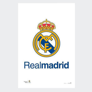 Real Madrid Crest Poster 2