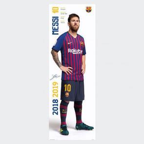 Barcelona Messi Door Poster