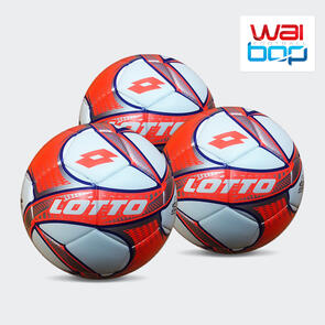 Lotto IPER VTB WaiBop Match Ball Pack – Orange/Silver