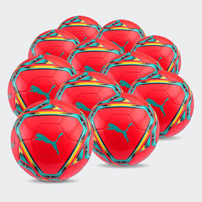 Puma TeamFINAL Training Ball Pack (Size 5 only) – Red