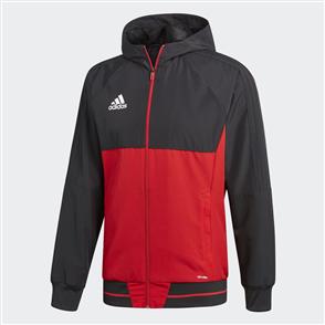 adidas Tiro 17 Presentation Jacket – Black/Red
