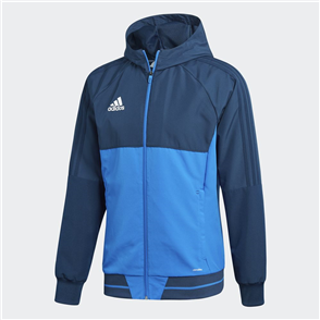 adidas Tiro 17 Presentation Jacket – Navy/White