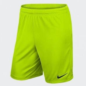 Nike Park Knit Short II – Volt
