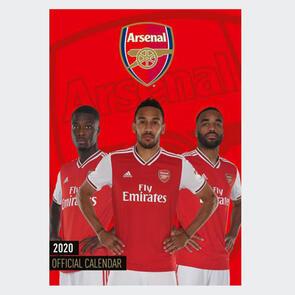 Arsenal 2020 A3 Calendar