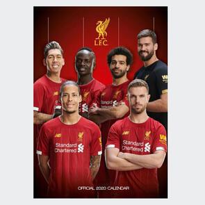 Liverpool 2020 A3 Calendar