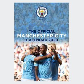 Manchester City 2020 A3 Calendar