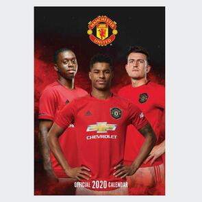 Manchester United 2020 A3 Calendar