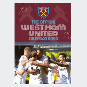 West Ham United 2020 A3 Calendar