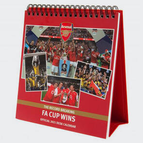 Arsenal Desktop Calendar 2021