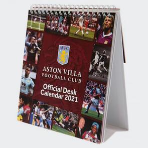 Aston Villa Desktop Calendar 2021