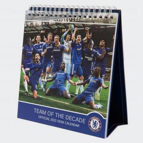 Chelsea Desktop Calendar 2021