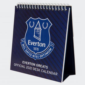 Everton Desktop Calendar 2021
