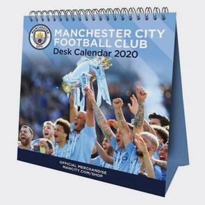 Manchester City Desktop Calendar 2020