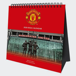 Manchester United Desktop Calendar 2020