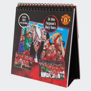 Manchester United Desktop Calendar 2021