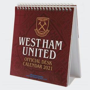 West Ham United Desktop Calendar 2021