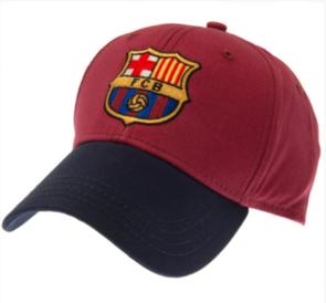 Barcelona Cap – Maroon/Navy