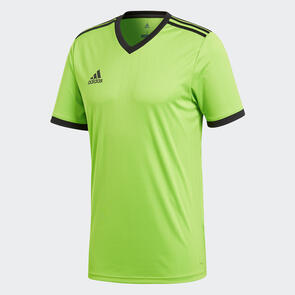 adidas Tabela 18 Jersey – Solar-Green/Black