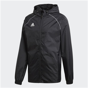 adidas Core 18 Rain Jacket – Black/White