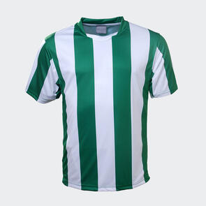 TSS Striped Jersey – Green/White