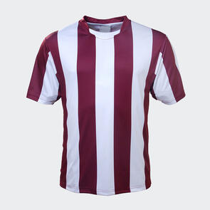 TSS Striped Jersey – Maroon/White