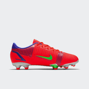 Nike Junior Mercurial Vapor 14 Academy FG/MG – Crimson/Silver