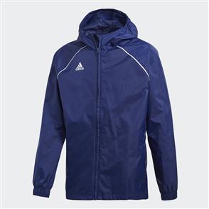 adidas Junior Core 18 Rain Jacket – Dark-Blue/White