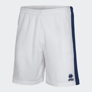 Erreà Bolton Short – White/Navy