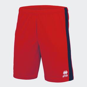 Erreà Bolton Short – Red/Navy
