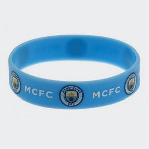 Manchester City Silicone Wristband