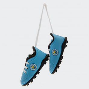 Manchester City Boots Car Hanger