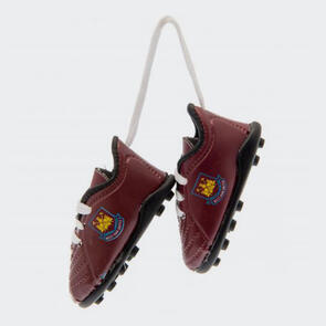 West Ham United Boots Car Hanger