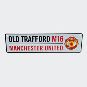 Manchester United Old Trafford M16 Window Sign