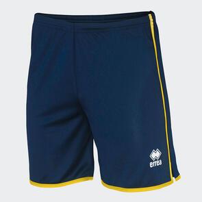 Erreà Bonn Short – Navy/Yellow