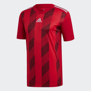 adidas Junior Striped 19 Jersey – Power-Red/White
