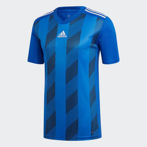 adidas Junior Striped 19 Jersey – Bold-Blue/White