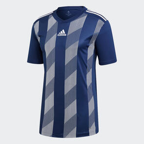 adidas Junior Striped 19 Jersey – Dark-Blue/White