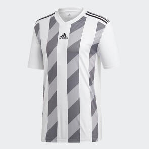 adidas Junior Striped 19 Jersey – White/Black