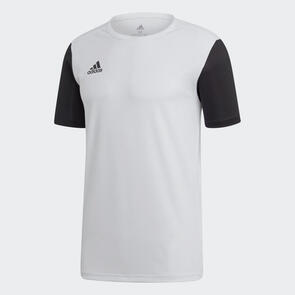 adidas Junior Estro 19 Jersey – White/Black